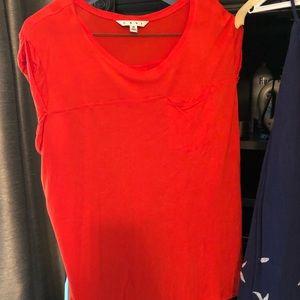 CAbi orange t-shirt